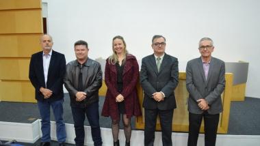 Posse dos novos membros da Diretoria Executiva e Conselho Fiscal do Sincovar-SJ