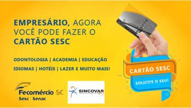 SESC para empresário do comercio associado ao SINCOVAR – SJ
